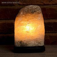 """Соляной светильник """"Скала"""", цельный кристалл, 2-3 кг"""