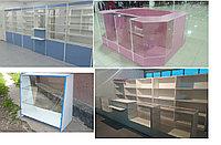 Торговое оборудование: витрины, прилавки на заказ для магазина