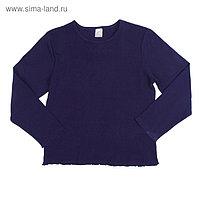 Джемпер для девочки, рост 116-122 см (34), цвет синий