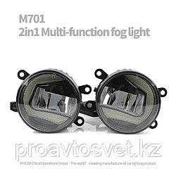 Противотуманные фары с ДХО DRL M701