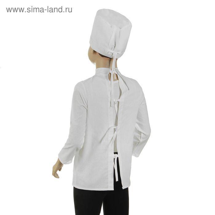 """Карнавальный костюм """"Доктор"""", шапка с инструментом, халат, 5-7 лет, рост 122-134 см - фото 2"""