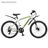 """Велосипед 26"""" Stinger Aragon, 2017, цвет белый, размер 20"""""""