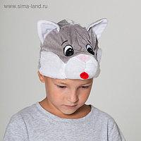 """Карнавальная шапка """"Кот"""", р-р 52-57 см"""