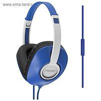 Наушники с микрофоном KOSS UR23iB, синие