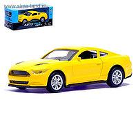 Машина металлическая «Спорт», инерционная, масштаб 1:43, цвета МИКС
