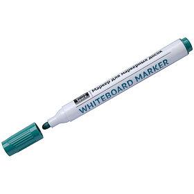 Маркер для белых досок OfficeSpace зеленый, пулевидный, 2,5мм