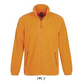 Флисовая кофта мужская North | Sols | Neon orange