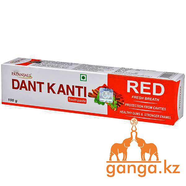 Зубная паста Ред Патанжали (Dant Kanti RED Fresh Breath PATANJALI), 100 гр.