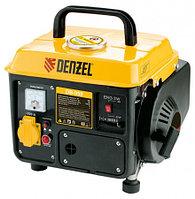 Генератор бензиновый DB950, 0,85 кВт, 220В/50Гц, 4 л, ручн. пуск DENZEL