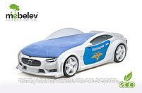 3D кровать-машина NEO ВОЛЬВО для детей до 12 лет., фото 7
