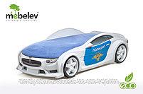 3D кровать-машина NEO ТЕСЛА для детей до 12 лет., фото 8