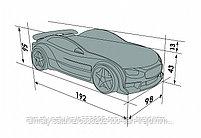 3D кровать-машина NEO ТЕСЛА для детей до 12 лет., фото 9