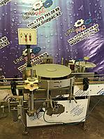 Этикетировочная машина дла нанесения полипропиленовой круговой этикетки