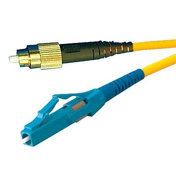 Патчкорд симплексный LANMASTER LC/UPC-FC/UPC одномодовый 1 м
