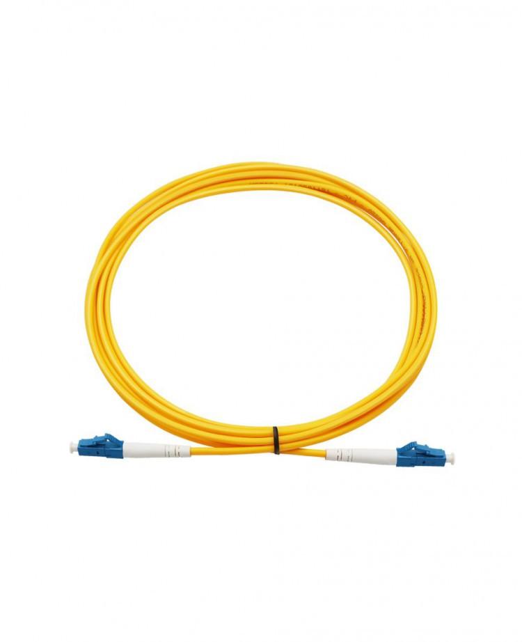 Патчкорд симплексный LANMASTER LC/UPC-LC/UPC, одномодовый, 1м