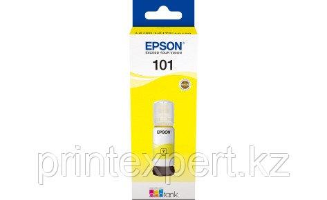 Чернила Epson C13T03V44A 101 EcoTank 70ml для L4150/L4160 жёлтый, фото 2