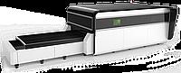 Оптоволоконный лазерный резак с защитной кабиной и сменным палетами LF3015G