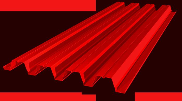 Профнастил оцинкованный с полимерным покрытием