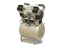 Безмасляный компрессор DK50 4VR/50, фото 1