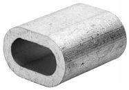 Зажим троса din 3093 алюминиевый  4 мм, фото 1