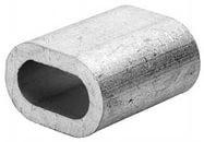 Зажим троса din 3093 алюминиевый 7 мм