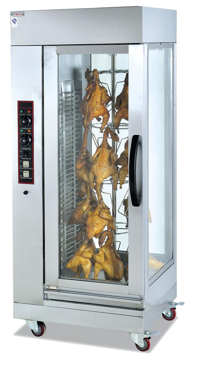 Аппарат для приготовления кур гриль вертикальный электрический 12 кур