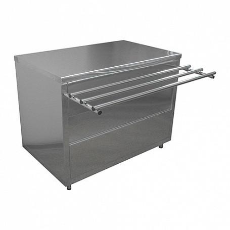 Стол нейтральный Лира-Профи СН/ЛП (1120х705(1030)х850(870) мм, нерж.сталь, 220В)