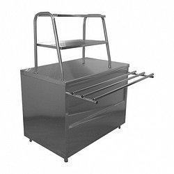 Стол нейтральный для горячих напитков Лира-Профи СГН/ЛП (1120х705(1030)х1462(1482) мм, нерж.сталь, 220В)