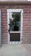 Двери алюминевые