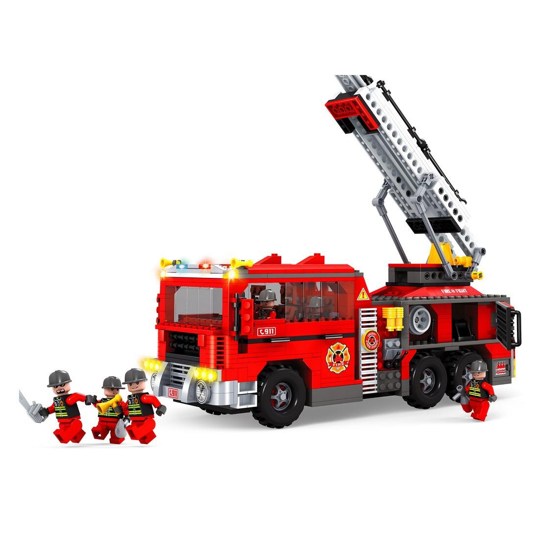 Игровой конструктор, Ausini, 21702, Пожарная бригада