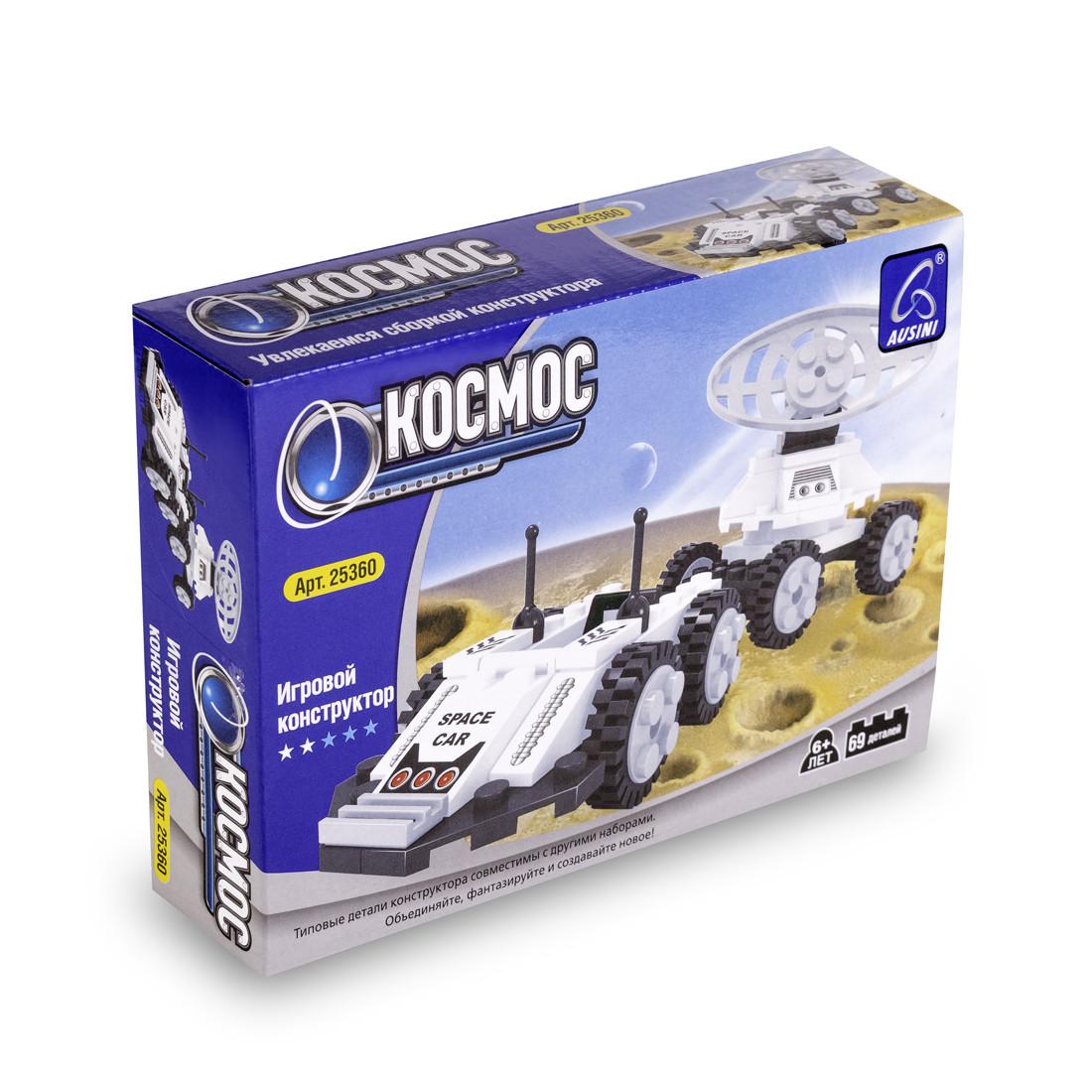 Игровой конструктор, Ausini, 25360, Луноход, Космос