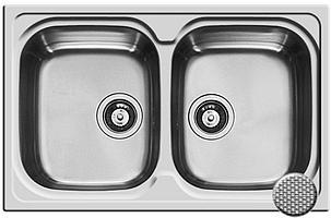 Кухонная мойка Pyramis Amaltia 79x50 2B MLN Linen Decor
