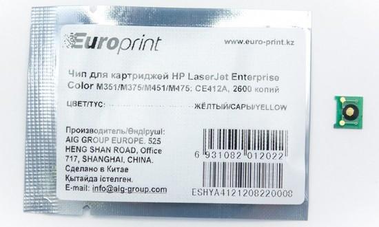 Чип, Europrint CE412A