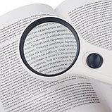 Оптический прибор увеличительная лупа MG82018 (d 7,5 см), фото 5