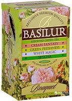 Чай зелёный пакетированный Букет Ассорти Assorted, 20пак Basilur