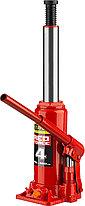 "Домкрат гидравлический бутылочный ""RED FORCE"", 4т, 195-380 мм, STAYER , фото 3"