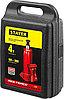 "Домкрат гидравлический бутылочный ""RED FORCE"", 4т, 195-380 мм, в кейсе, STAYER, фото 4"