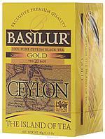 Чай чёрный пакетированный Остров Цейлон Золотой Gold, 20пак Basilur