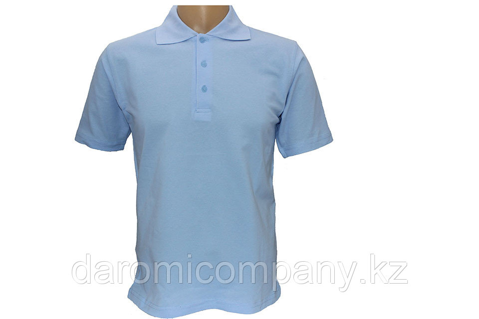 Футболка мужская Polo, Голубой