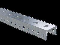 DKC П-образный профиль PSL, L400, толщ.1,5 мм, фото 1