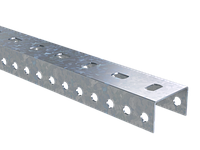 DKC П-образный профиль PSL, L900, толщ.1,5 мм, фото 1