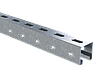 DKC С-образный профиль 41х41, L400, толщ.1,5 мм