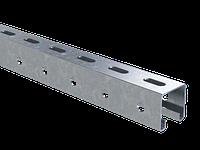 DKC С-образный профиль 41х41, L2000, толщ.1,5 мм, фото 1