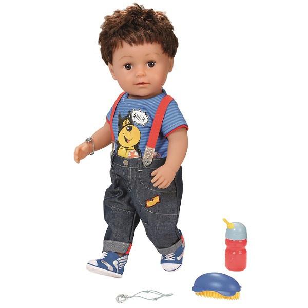 Кукла Baby born  Бэби Борн Кукла-мальчик Братик Интерактивная 43 см 825-365