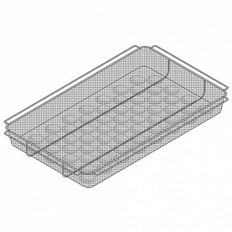 Гастроемкость GN 1/1-50, 176х162х150мм RATIONAL 6019.1150 (для картофеля фри)