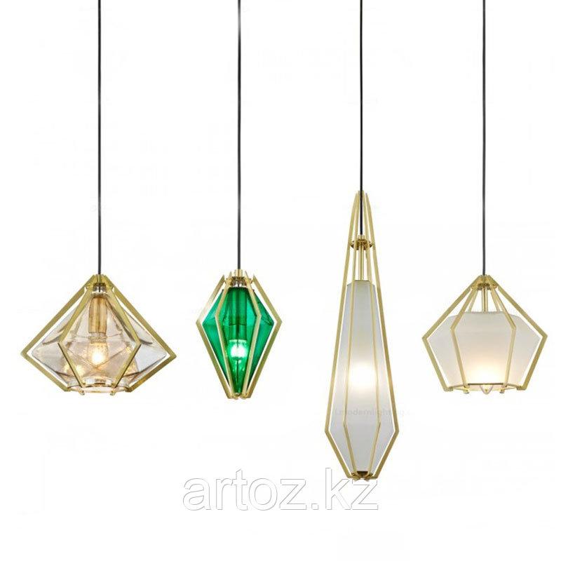 Люстра Harlow pendant A (green)