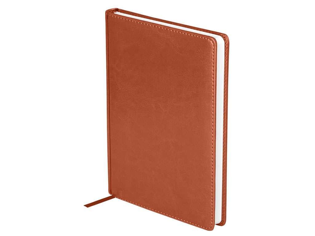 """Ежедневник OfficeSpace """"Nebraska"""" А5, недатированный, 272 страницы, коричневый"""
