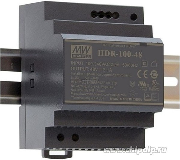 Блок питания HDR-100-12