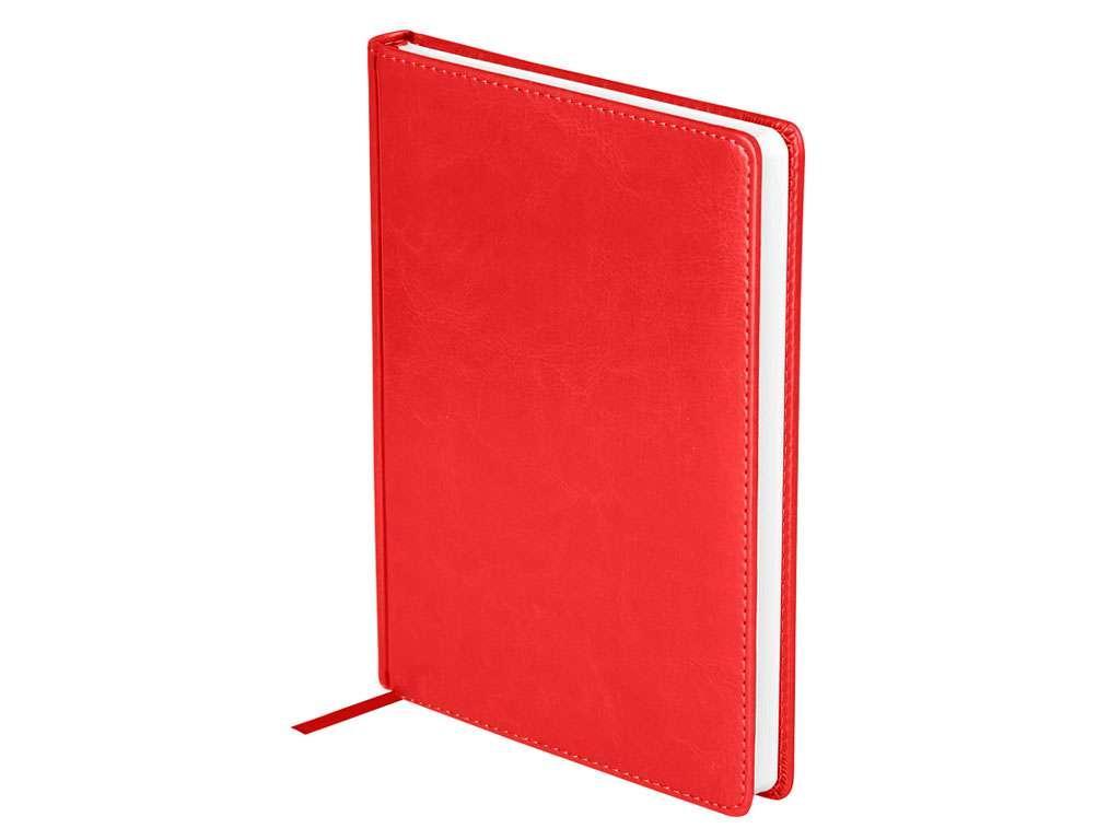 """Ежедневник OfficeSpace """"Nebraska"""" А5, недатированный, 272 страницы, красный"""
