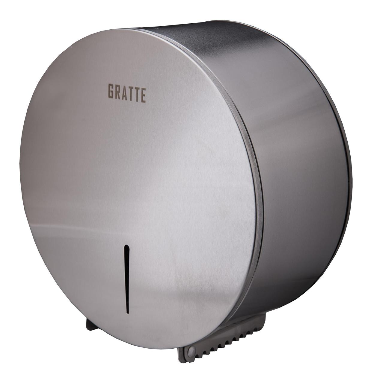Диспенсер для туалетной бумаги антивандальный GRATTE TM-350